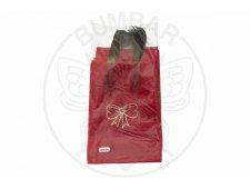 PE vrećica E16 crvena mašna jagoda